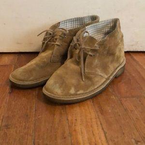 Clark's Desert Boots - tan suede